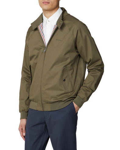 Signature Harrington Jacket - Khaki