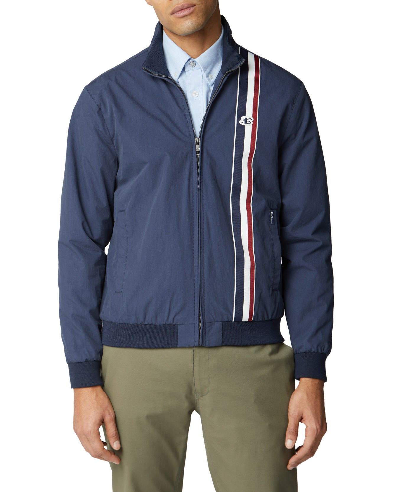 Sports Harrington Jacket - Navy