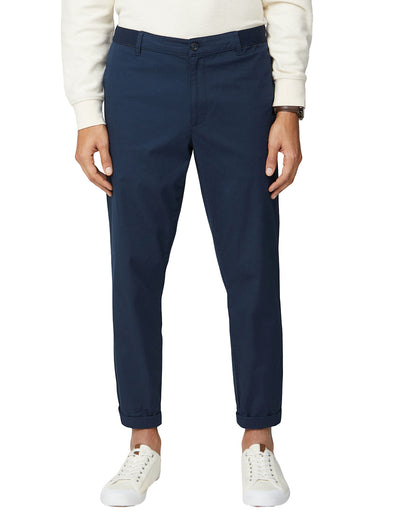 Relaxed Trouser - Dark Navy