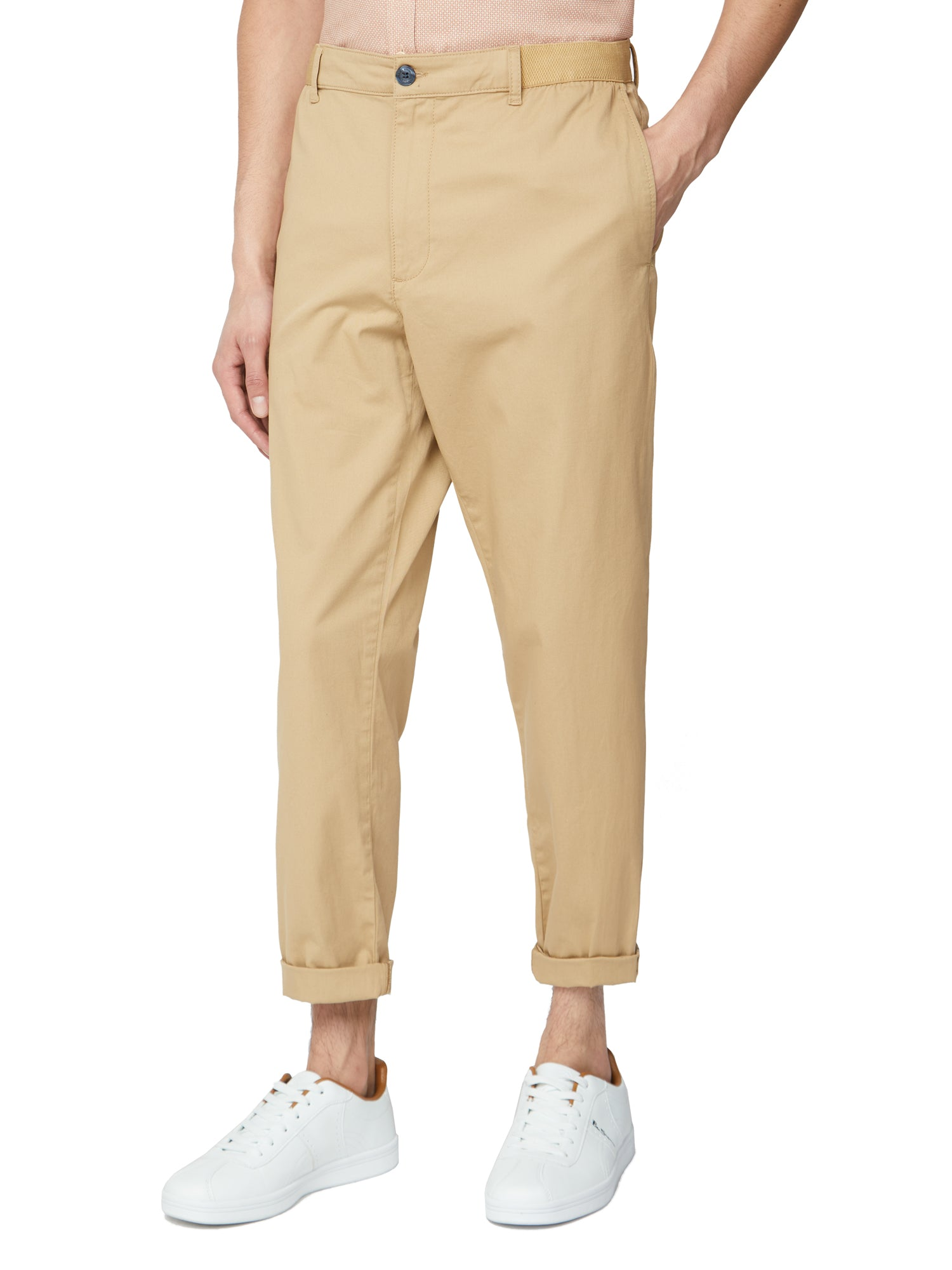 Relaxed Trouser - Sand