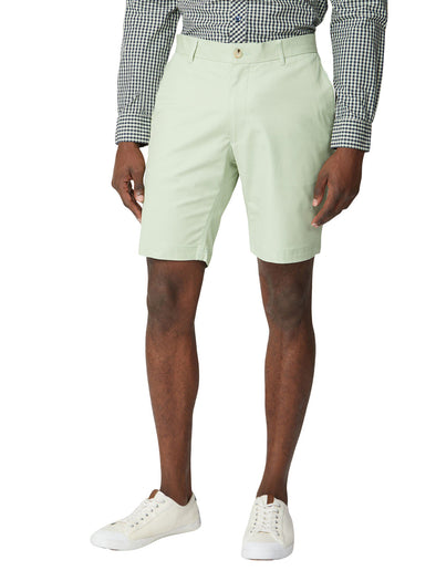 Signature Slim Stretch Chino Short - Green