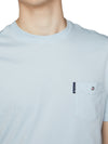 Organic Cotton Signature Pocket Tee - Sky