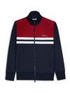 Color Block Tricot Jacket - Dark Navy