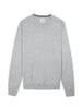 Signature Cotton Crewneck Sweater - Grey