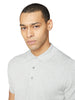 Signature Cotton Short-Sleeve Knit Polo - Grey