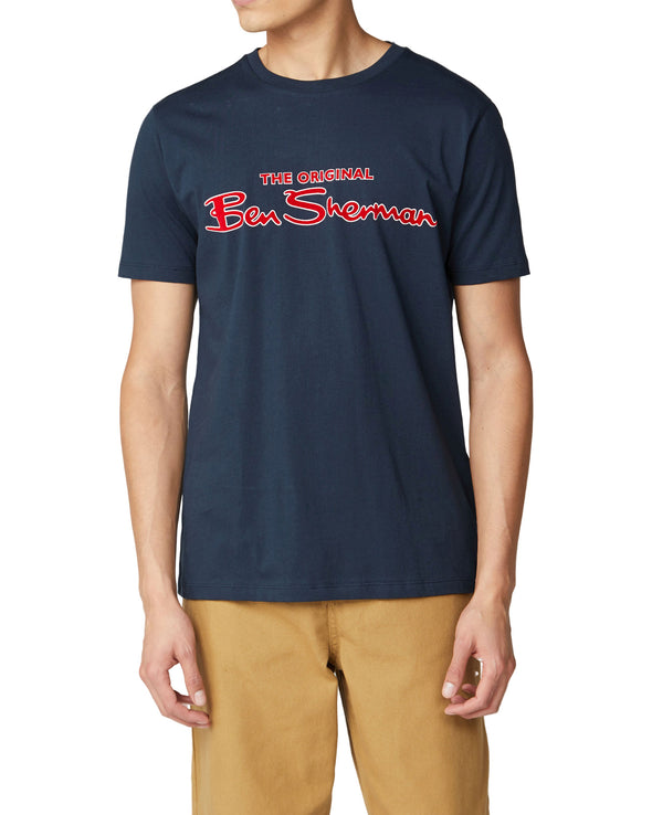 Signature Logo Tee - Dark Navy