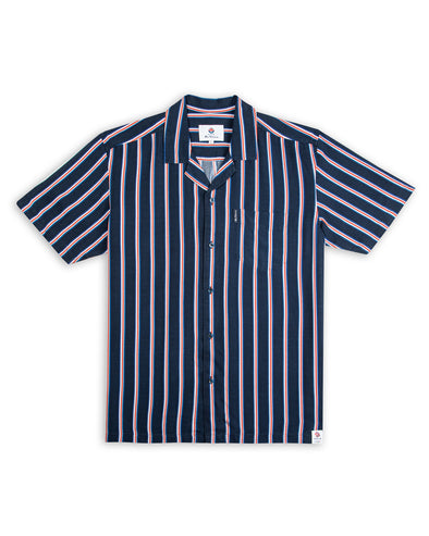 Team GB Men's Union Stripe Shirt - Midnight