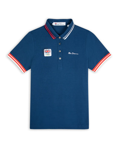 Team GB Women's Signature Polo - Marine