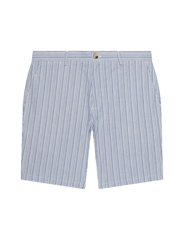 Seersucker Co-Ord Short - Indigo
