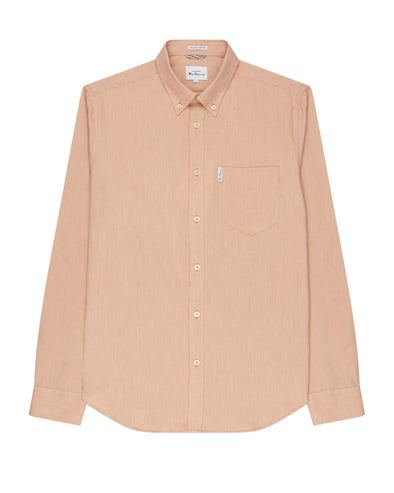 Long-Sleeve Signature Oxford Shirt - Anise