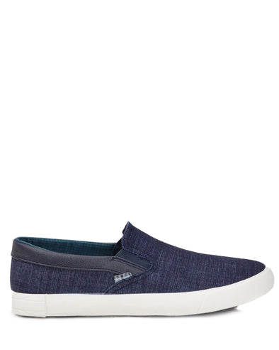 Pete Denim Slip-on Sneaker - Blue