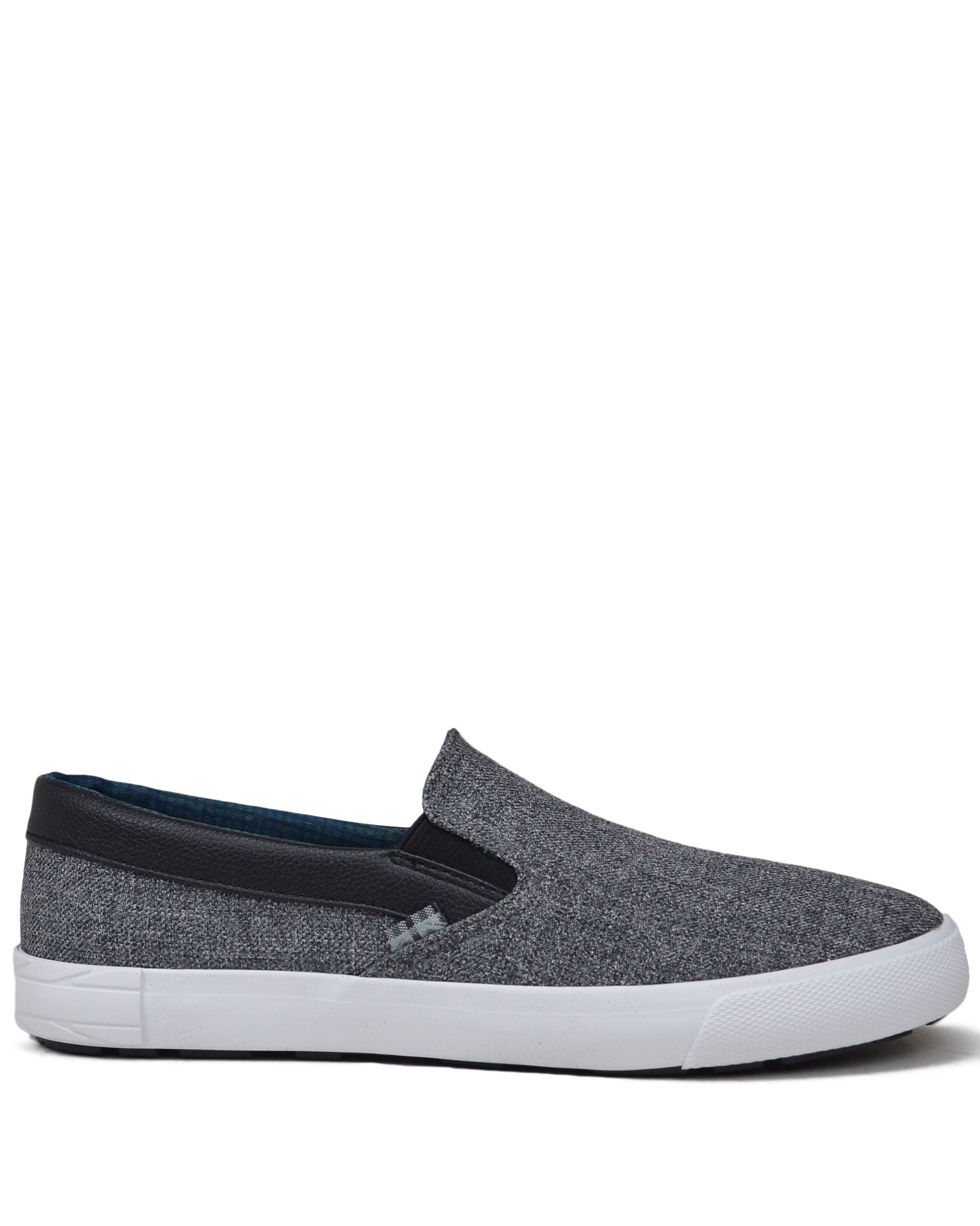 Pete Denim Slip-on Sneaker - Grey Heather