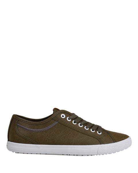 Chandler Lo Men's Lace-up Sneaker - Olive