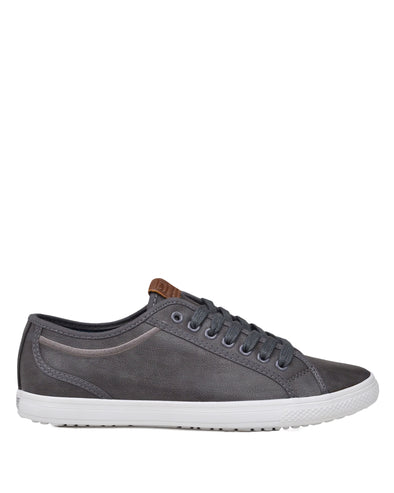 Chandler Lo Men's Lace-up Sneaker - Dark Grey