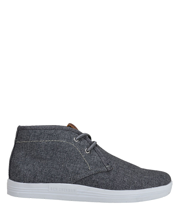 Payton Chukka Mid-Top Sneaker - Dark Grey Heather 4dd6d24b93d