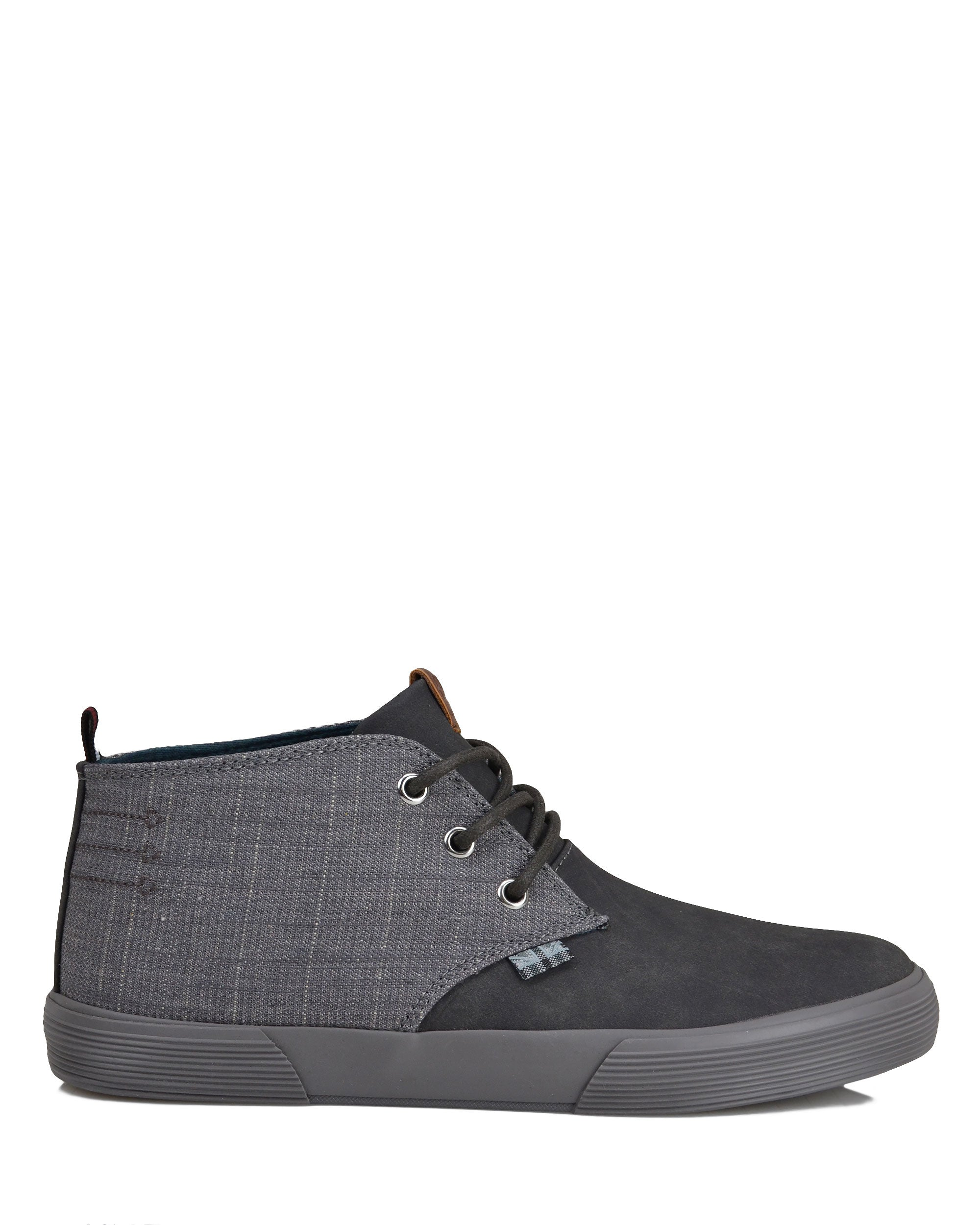Bradford Denim/Suede Chukka - Dark Grey