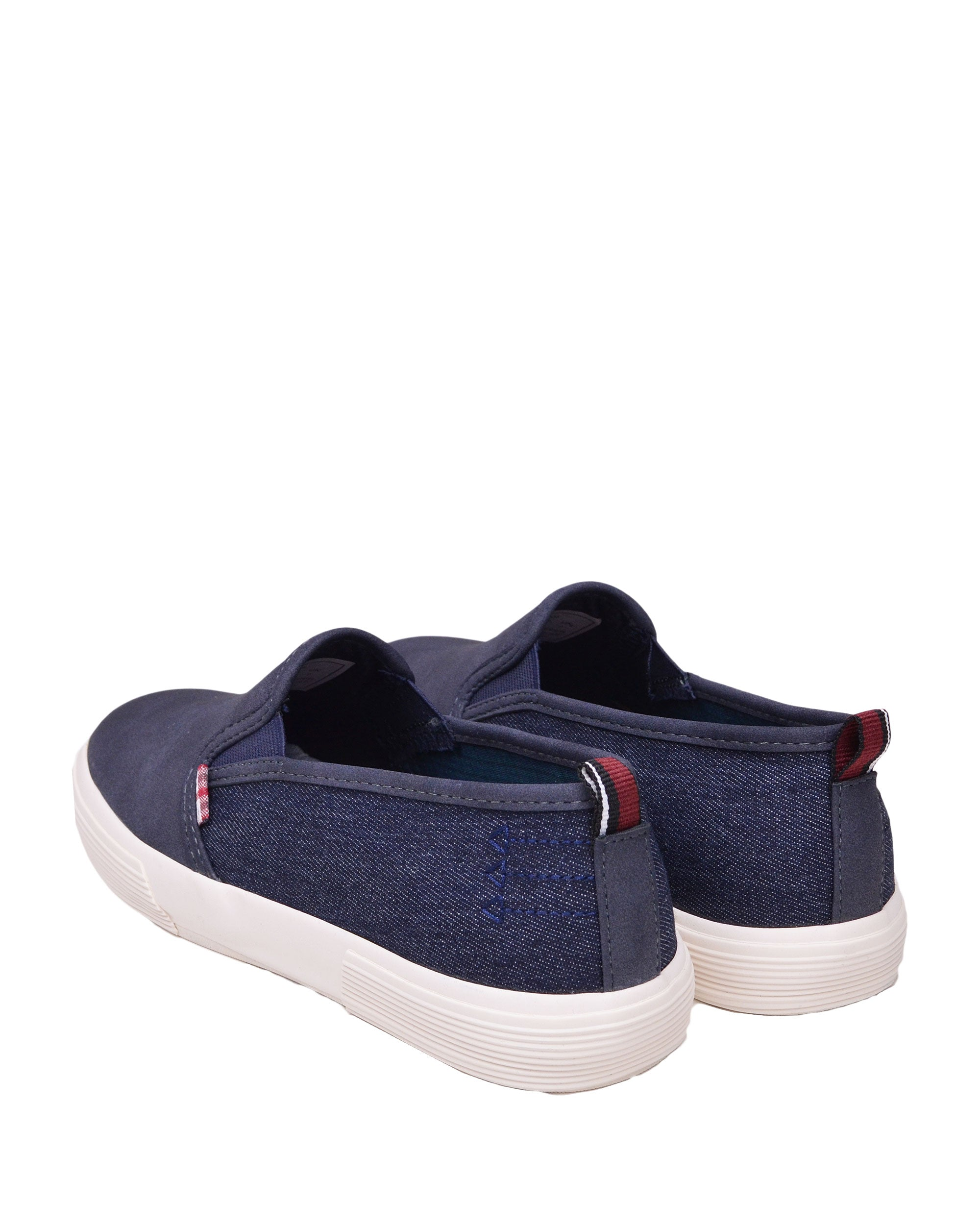 cd966d48ec7 Bradford Denim Suede Slip-on Sneaker - Navy – Ben Sherman