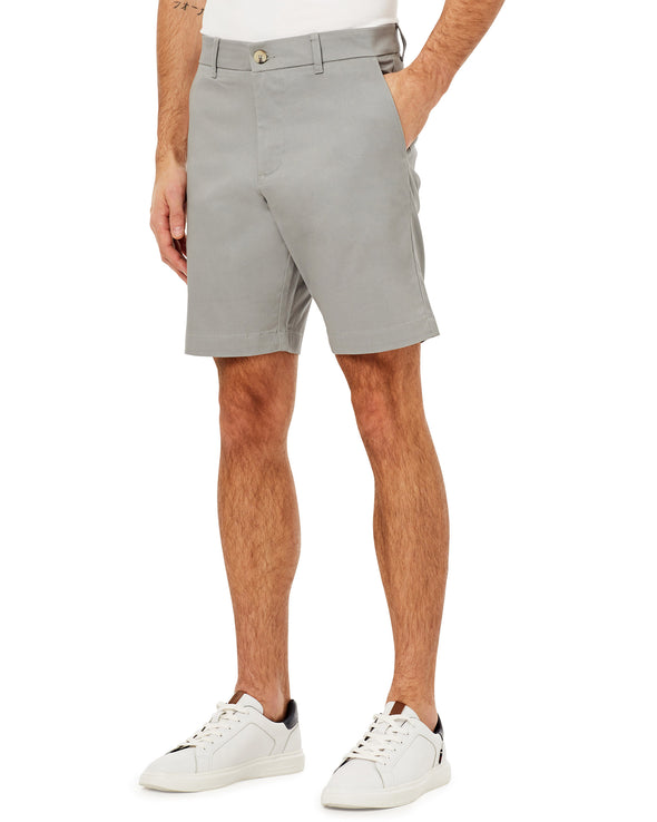 Sateen Chino Short - Grey