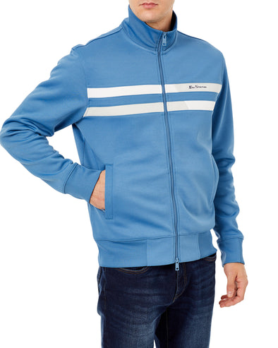 Two-Stripe Track Jacket - Parisian Blue
