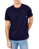 Supima Cotton Pocket Crew T-Shirt - Navy Blazer