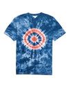 Tie-Dye Target Graphic T-Shirt - Ensign Blue