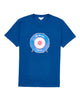 Drum Target Graphic T-Shirt - Navy Peony