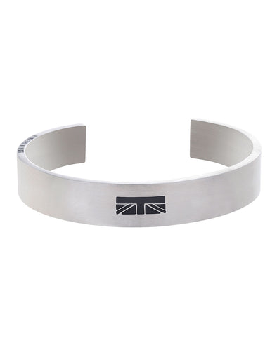 Striped Design Men's Cuff Bangle