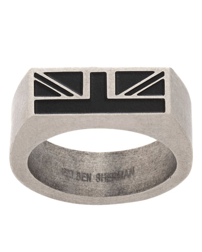 Rectangle Design Men's Ring