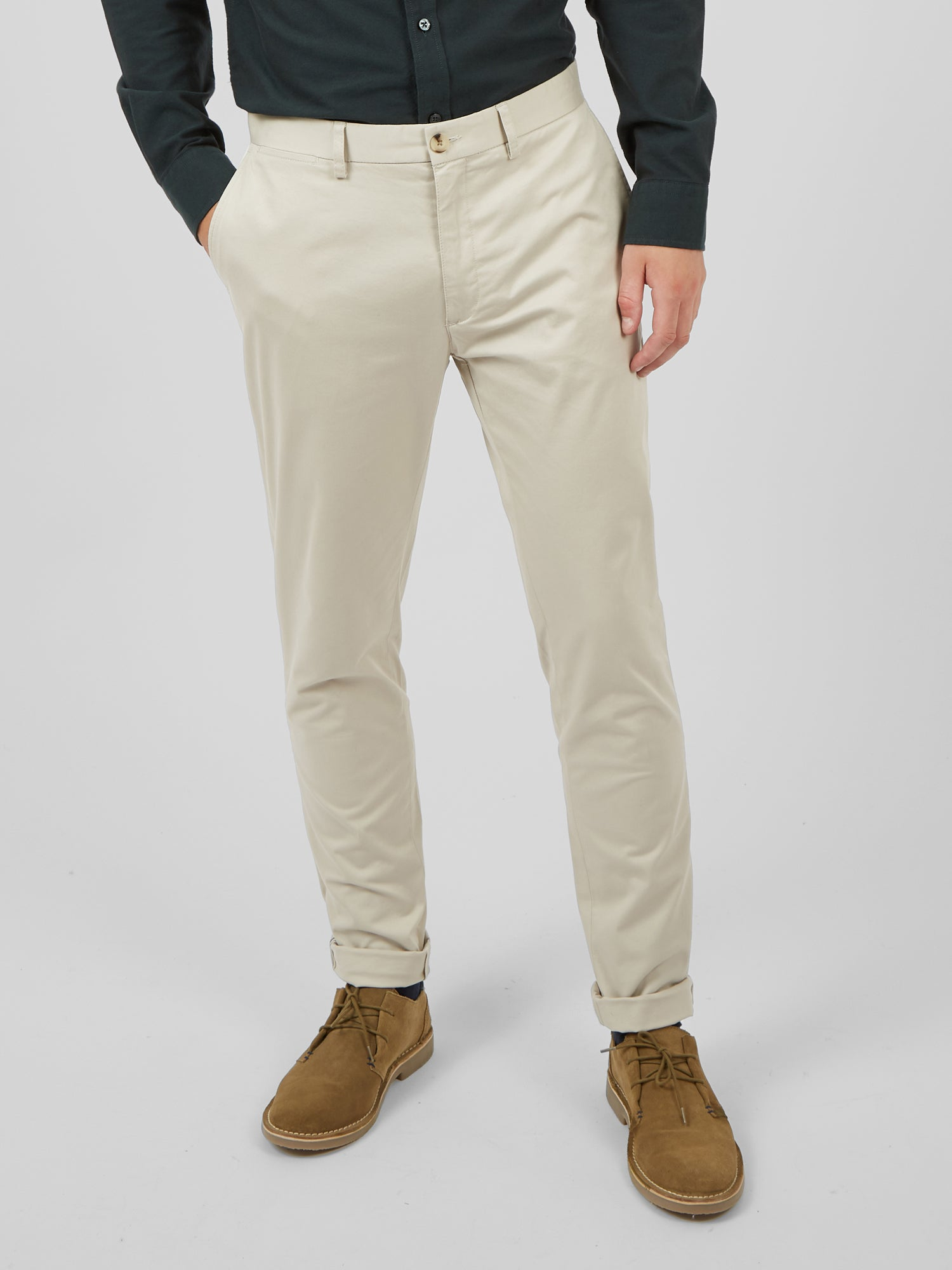 Signature Skinny Stretch Chino Pant - Putty