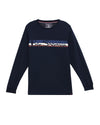 Men's Long-Sleeve Tee & Jogger Lounge Set - Navy