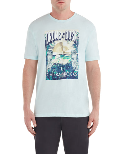 Riviera Drums Graphic Tee - Mint