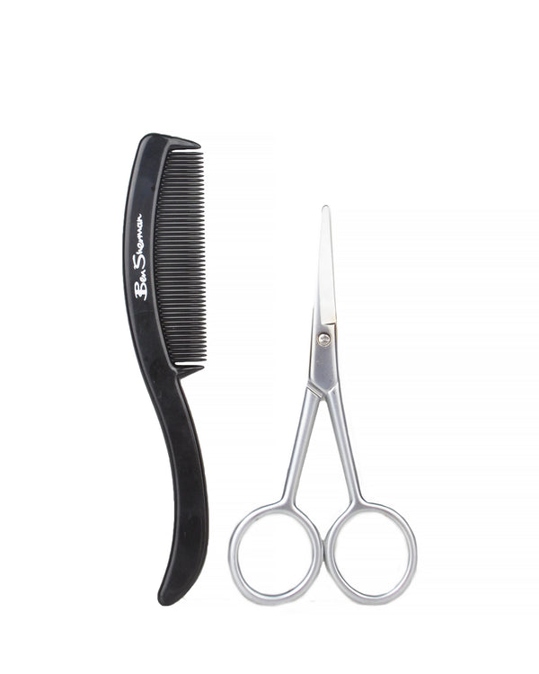 Stainless Steel Grooming Set with Comb