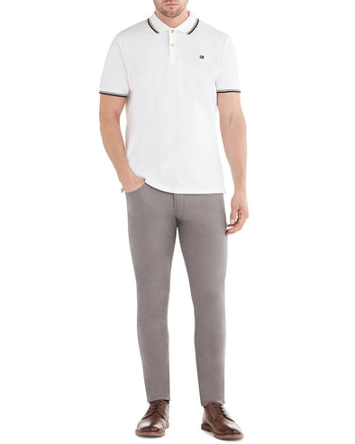 Stretch Sueded Sateen 5-Pocket Pant - Steel Grey