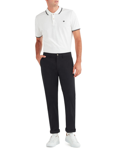 Slim Stretch Chino Pant - Jet Black