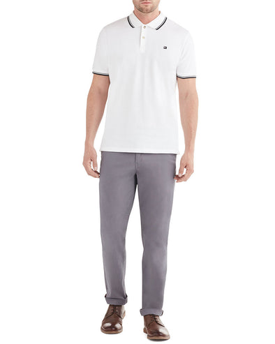 Slim Stretch Chino Pant - Steel Grey