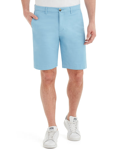 Brushed Stretch Cotton Short - Dusk Blue