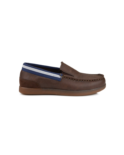 Boys' Casual Slip-On Loafer - Tan