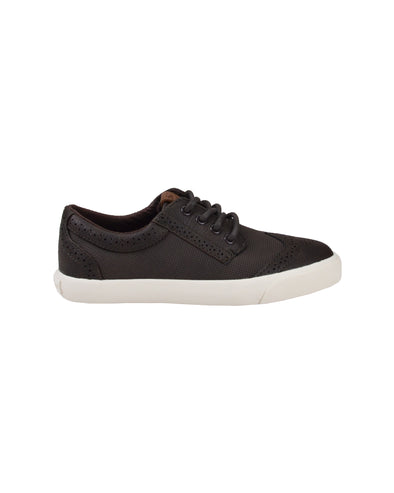 Boys' Jayme Wingtip Lace-Up Sneaker - Brown