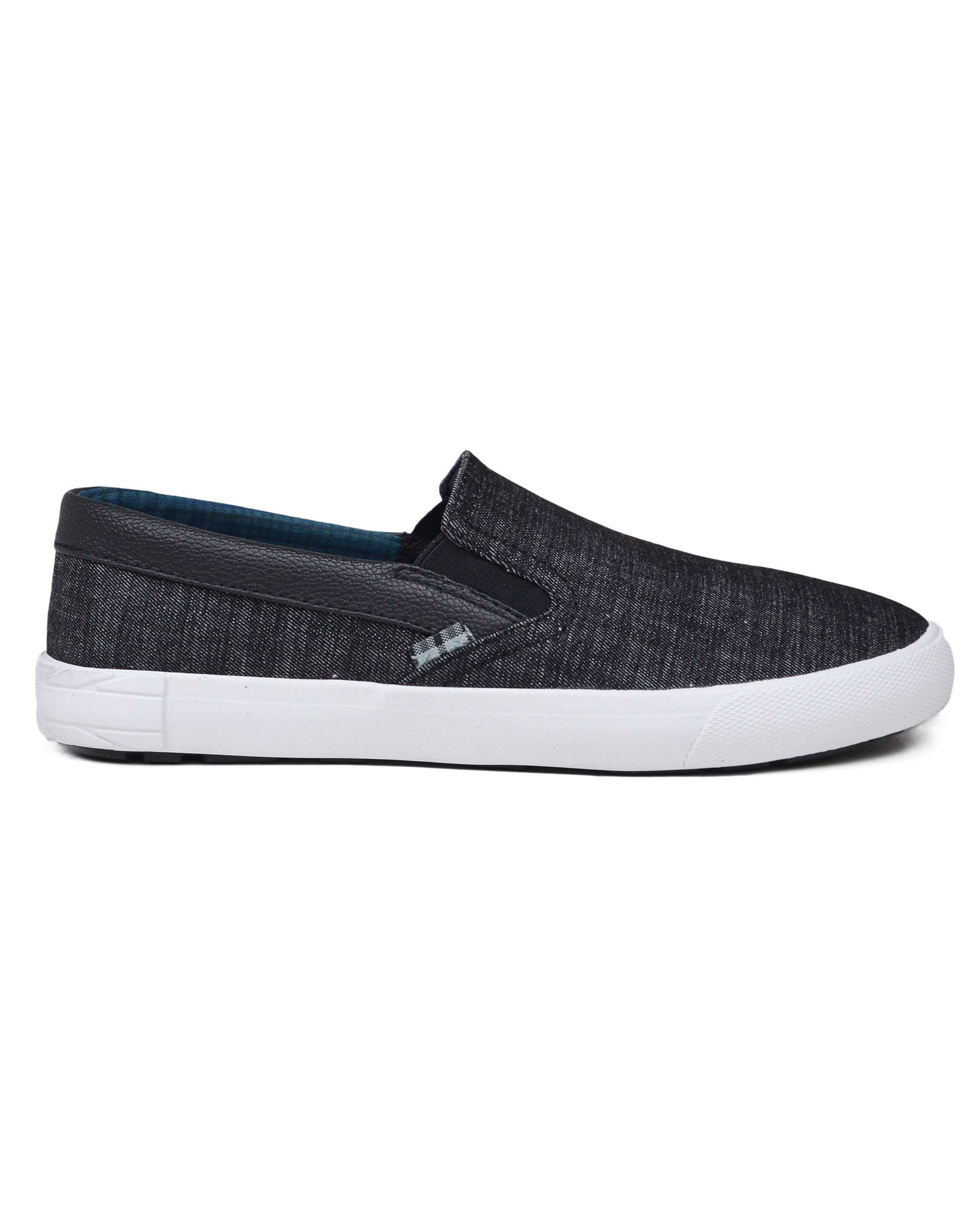 Pete Denim Slip-on Sneaker - Black