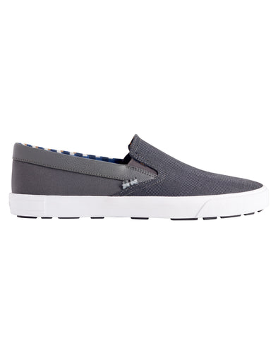 Pete Chambray Slip-On Sneaker - Grey