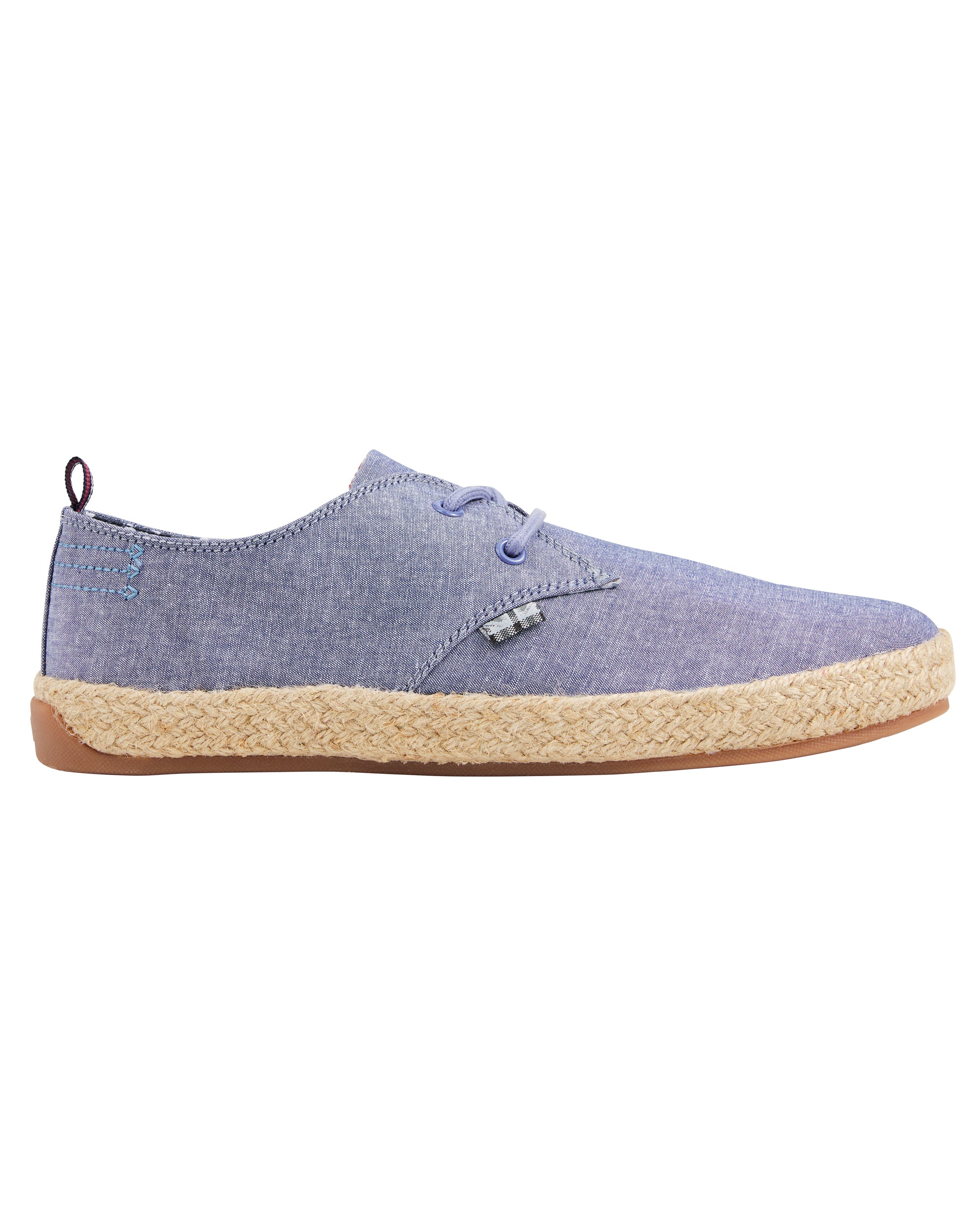 New Prill Two-Tone Oxford Sneaker - Blue