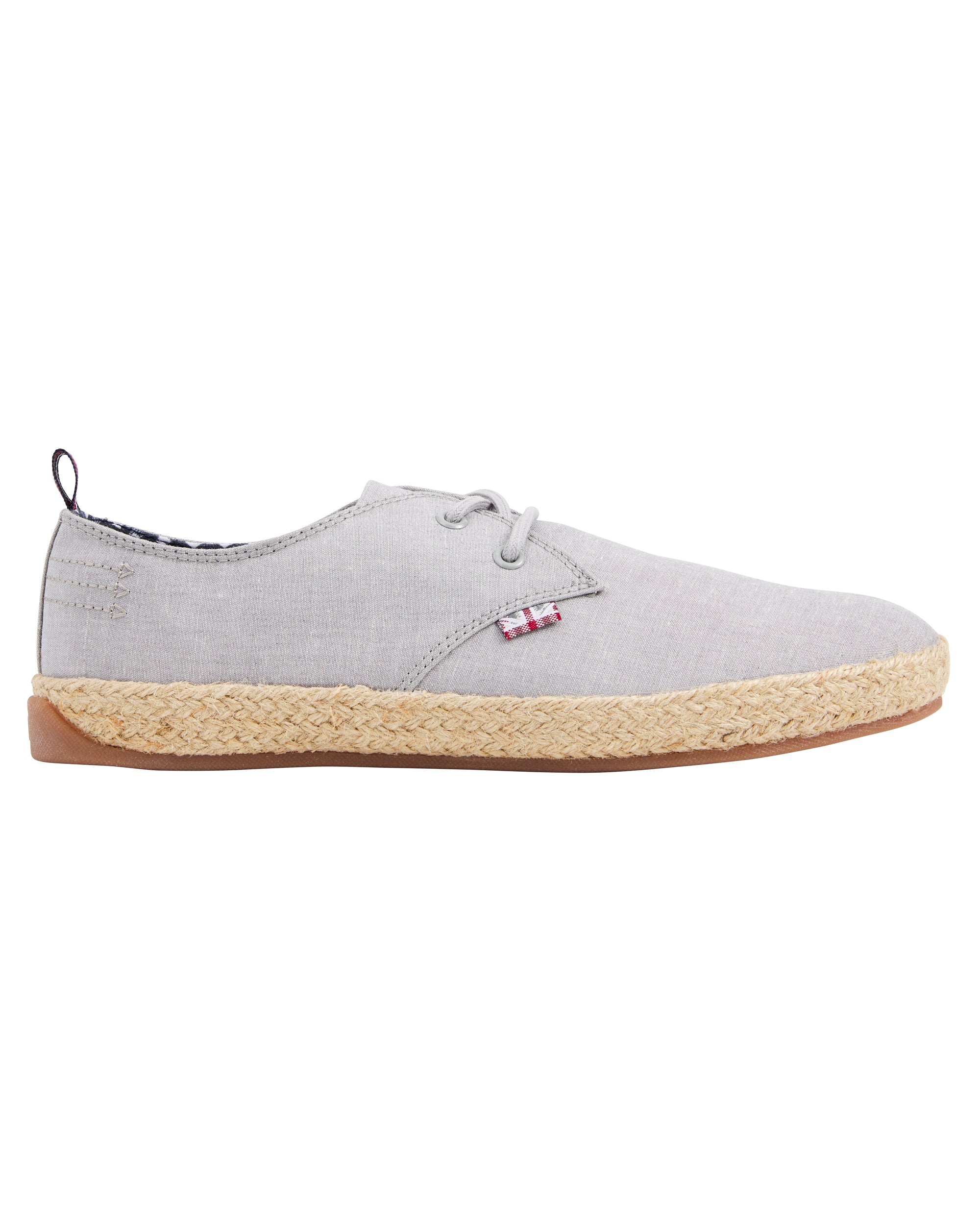 New Prill Two-Tone Oxford Sneaker - Grey