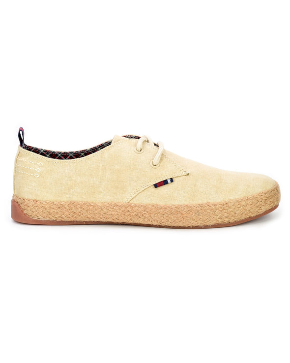 New Prill Two-Tone Oxford Sneaker - Natural