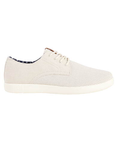 Parnell Oxford Lace-Up Sneaker - Off White