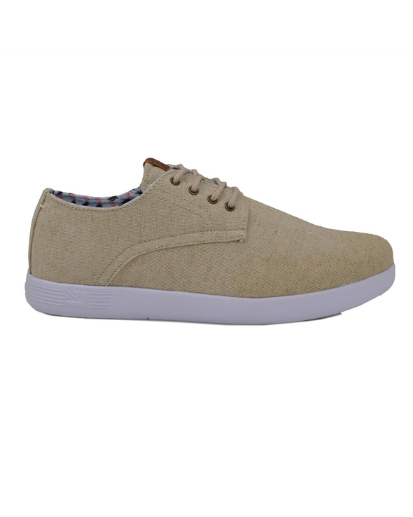 Parnell Oxford Lace-Up Sneaker - Natural Linen