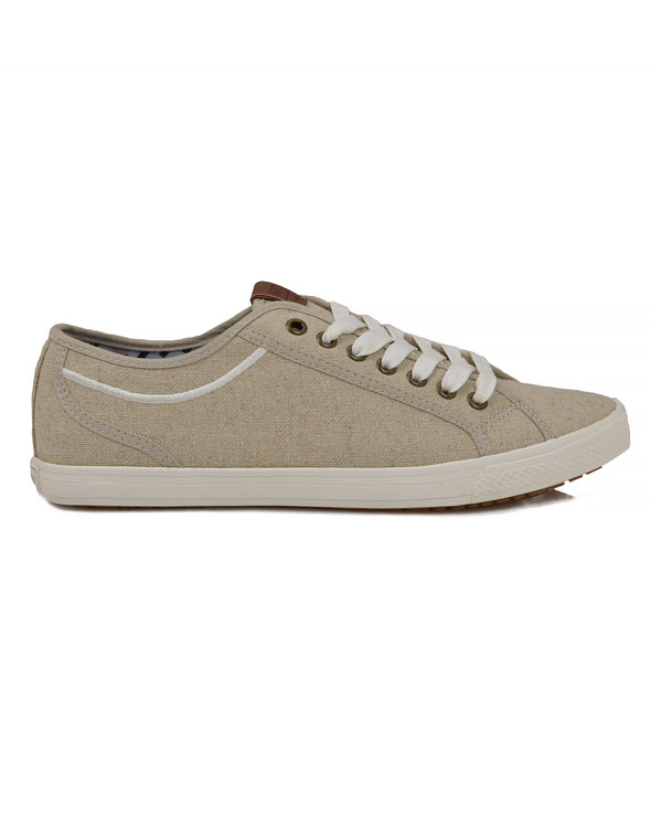 Chandler Low-Top Sneaker - Natural Linen