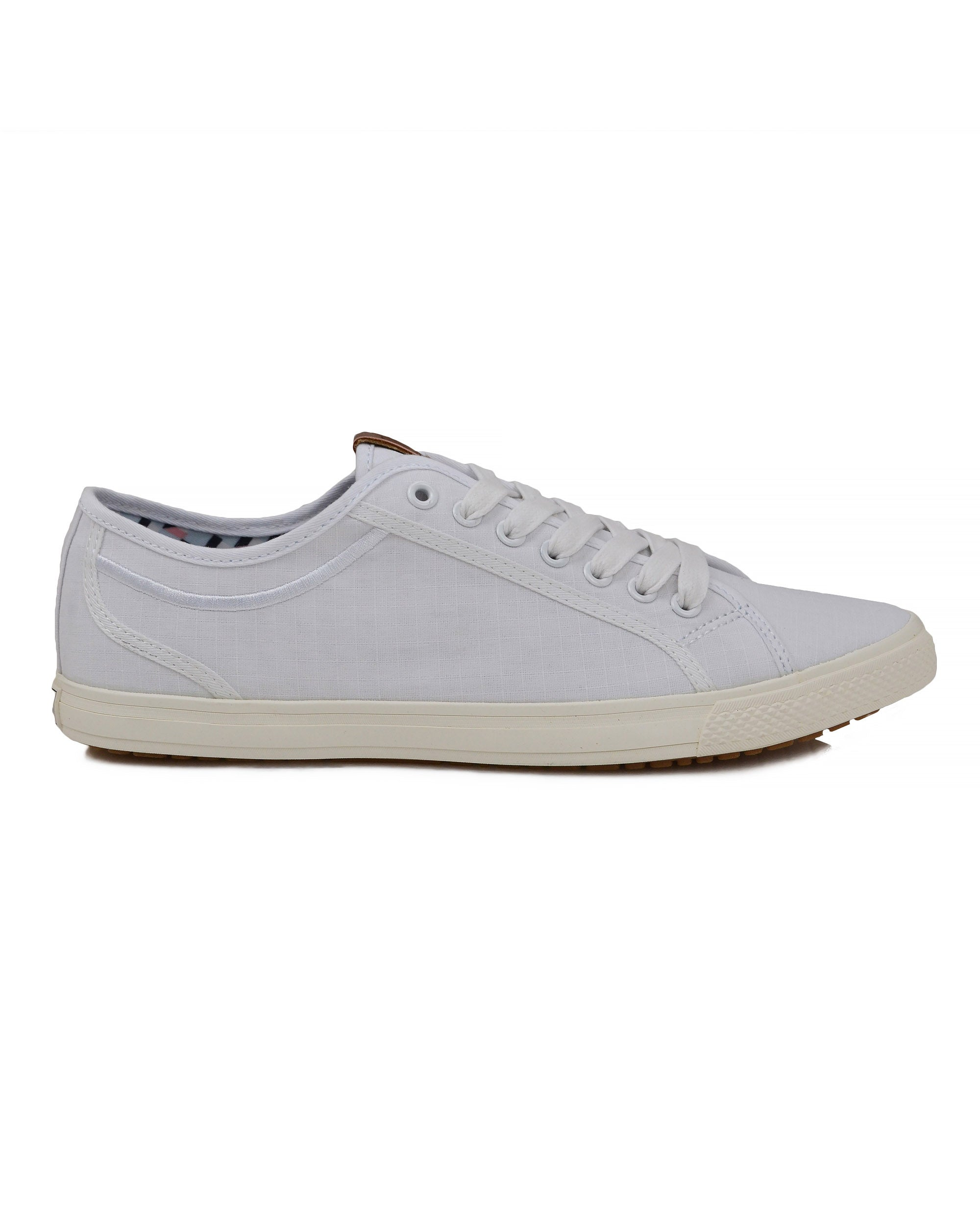 Chandler Low-Top Sneaker - White Ripstop