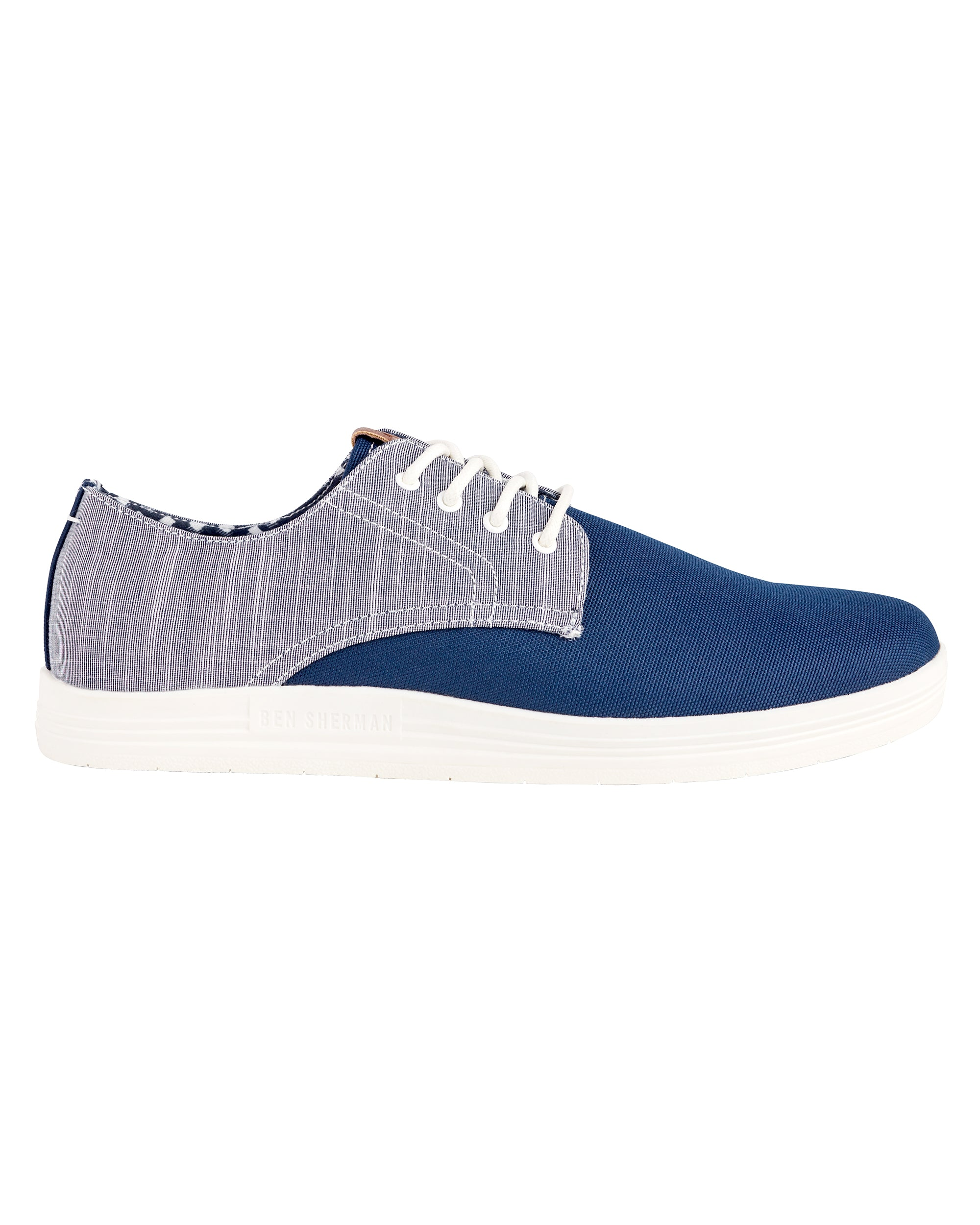 Payton Oxford Lace-Up Sneaker - Navy