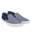 Percy Textile Slip-On Sneaker - Navy
