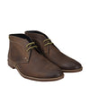 Gabe Leather Chukka Boot - Dark Brown